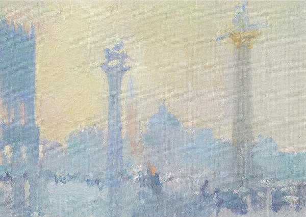 Julia Hawkins, Light Effect, Columns of San Marco