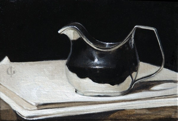 James Gillick, George III Silver Cream Jug