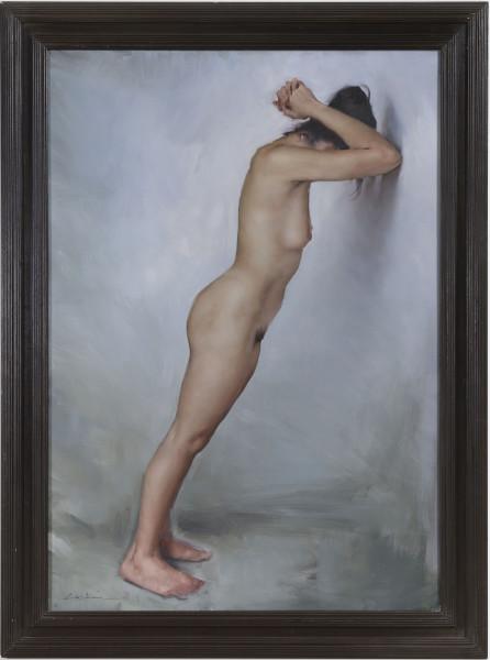 Michael J Austin, Nude Against Wall