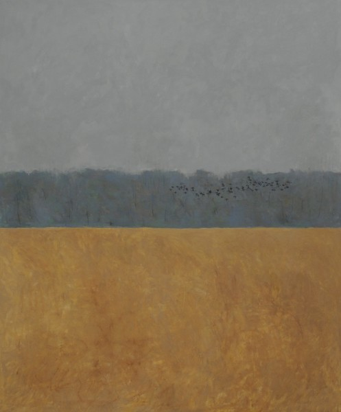 Ron Kingswood, Autumn-Blackbirds