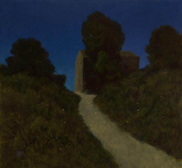 Michael Bennallack Hart, Fireflies, Old Perithia, Corfu