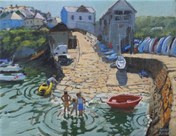 Andrew Macara, New Quay, Wales