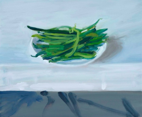 Craig Wylie, Runnerbeans on a Table 2012