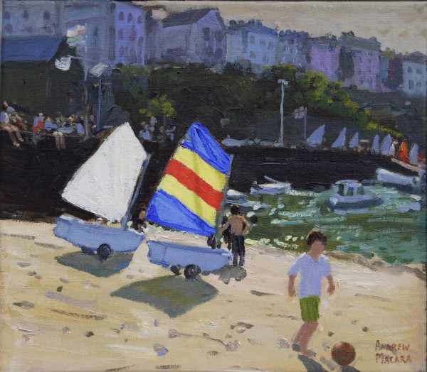 Andrew Macara, Boating and football, Tenby