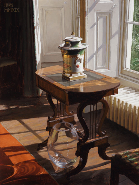 Harry Steen, House in Wales - Urn in Library
