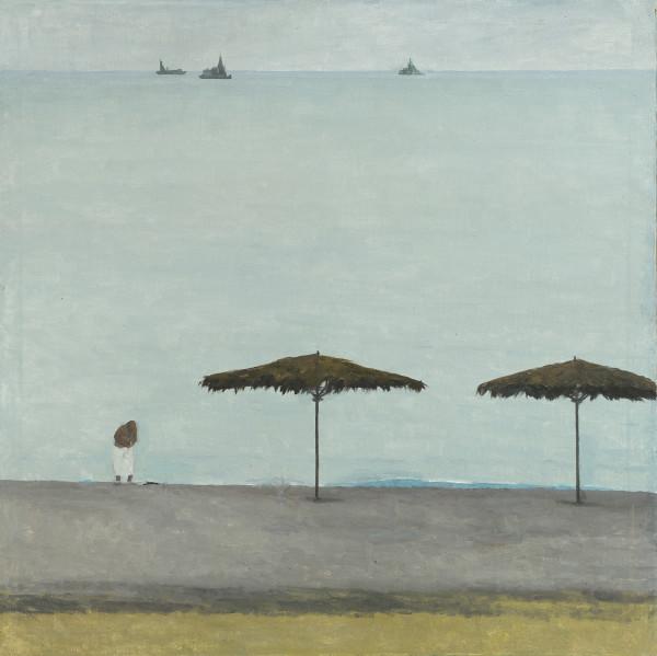 Alla Polkovnichenko No Season Oil on canvas 39.4 x 39.4ins (100 x 100cm) (artwork size) 41 x 41ins (104 x 104cm) (framed size)