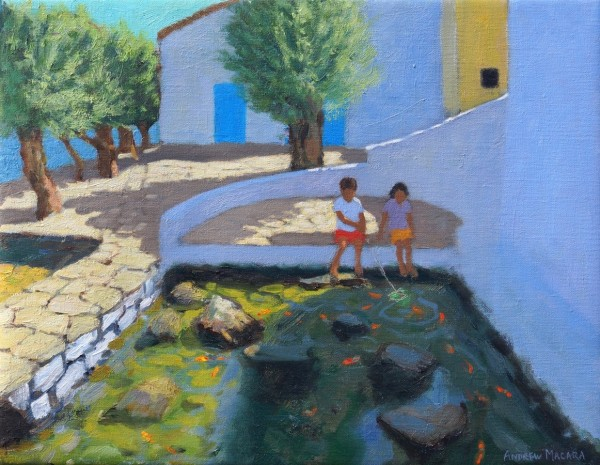 Andrew Macara, Fish Pond, Milos, Greece