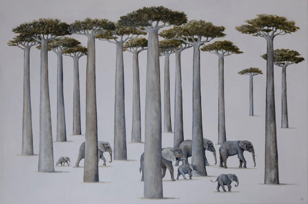 Rebecca Campbell, African Giants