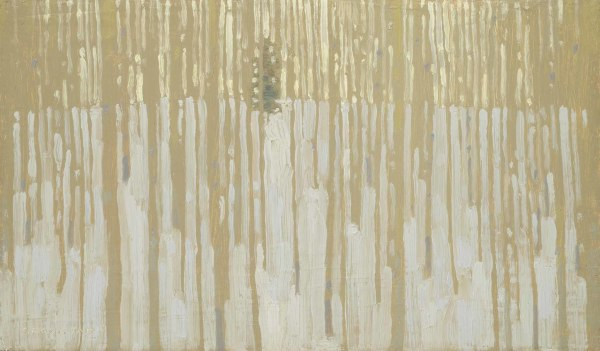 David Grossmann  Solitary Pine  Oil on linen over panel  7 x 12ins (17.8 x 30.5cm)