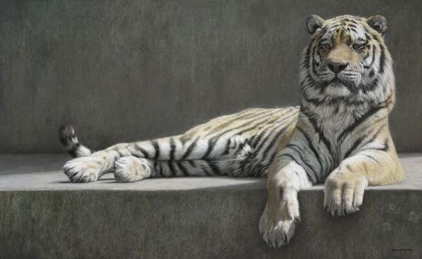 Recumbent Tiger