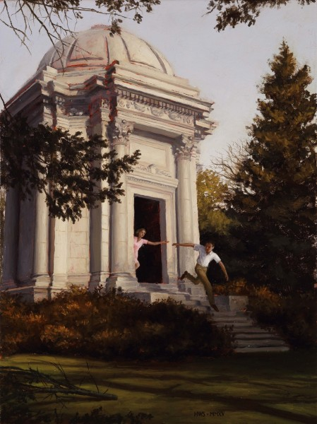 Harry Steen, Mausoleum (Study)