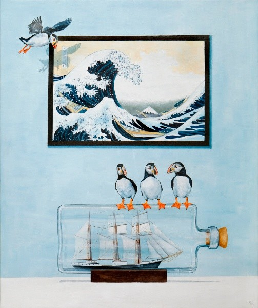 Rebecca Campbell, The Great Wave