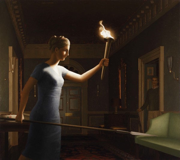 Girl with Torch