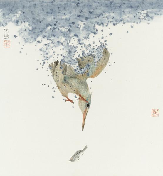 He Xi, Chasing Fish