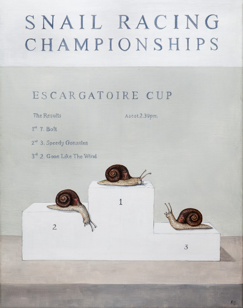 Rebecca Campbell, An Escargatoire of Snails