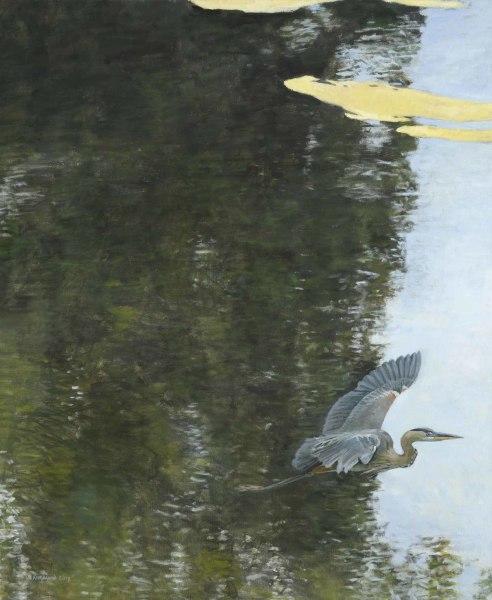 Ron Kingswood, Blue Heron