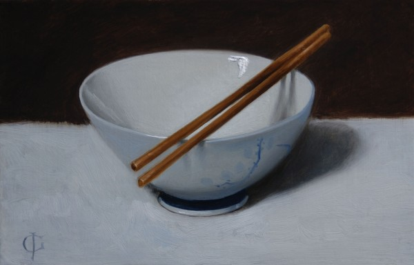 James Gillick, Chopsticks & Bowl
