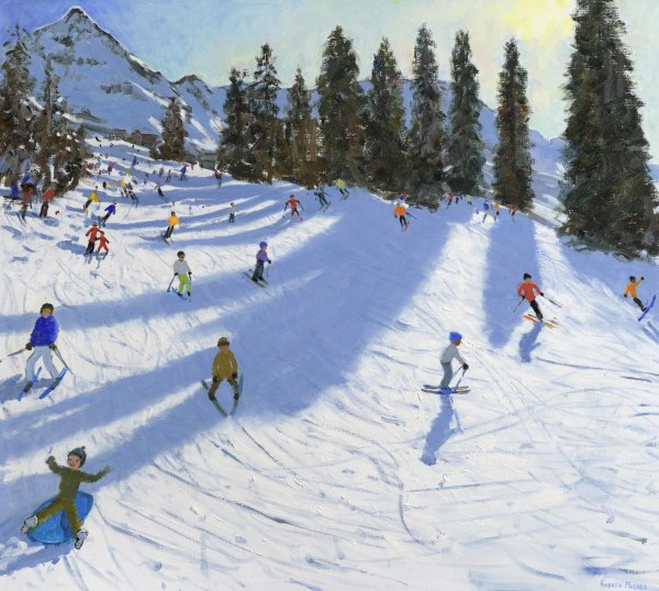 Andrew Macara, Christmas, La Plagne