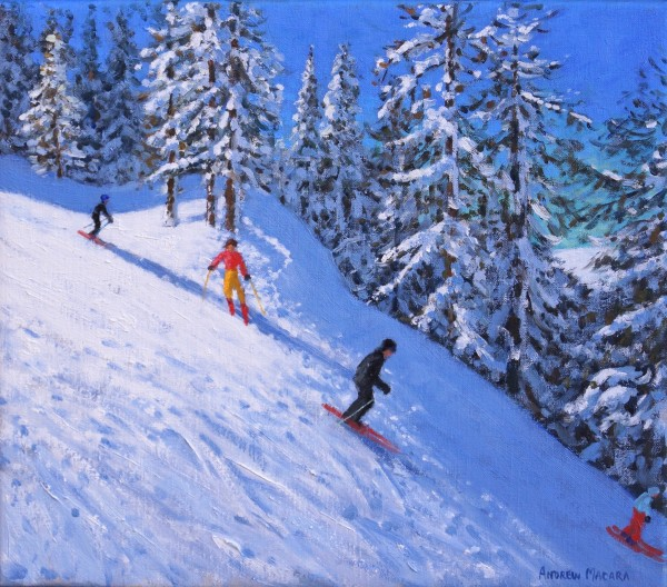 Andrew Macara, Steep Slope, Les Arcs, France