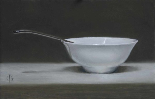 James Gillick, Porcelain Bowl & Spoon
