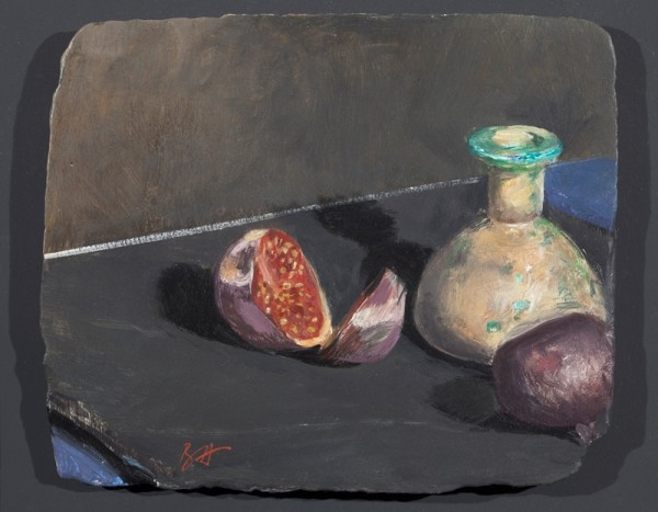 Figs and an Egyptian Vase