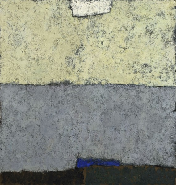 Carol Mahtab, Abstract in Grey and Green