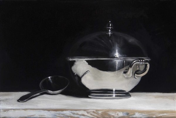 James Gillick, Silver Tureen & Spoon
