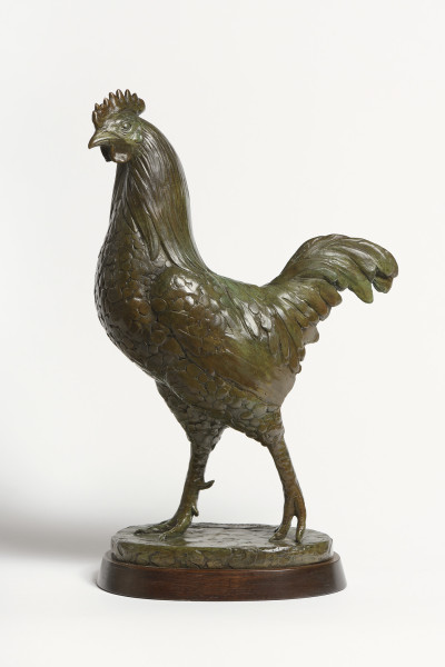 William Newton Rooster, 2000 Bronze 14 x 9 x 4.75ins (36 x 23 x 12cm) From an edition of 9, numbered 4/9