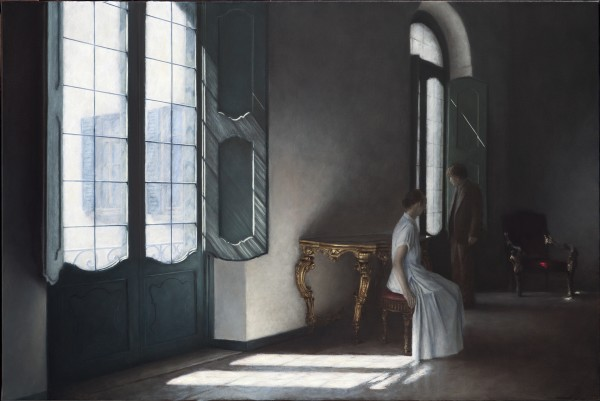 Geneviève Daël, Attendre à la Villa Panza