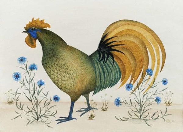 Harriet Bane, Blue Cockerel