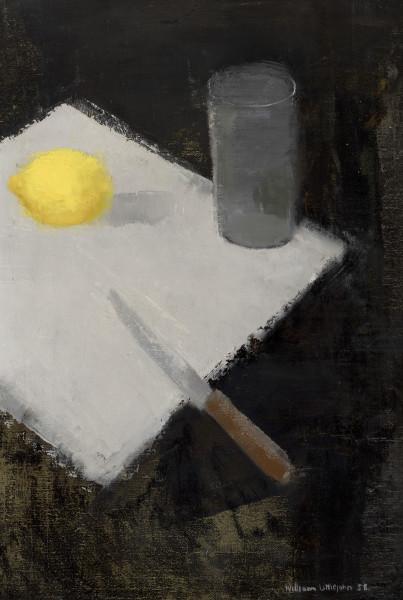William Littlejohn RSA, RSW, RGI Tabletop Still Life Oil on canvas 19 x 13 ins (48.5 x 33cm)