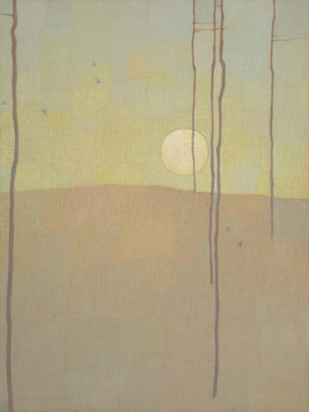 David Grossmann, Forest Patterns with Moon