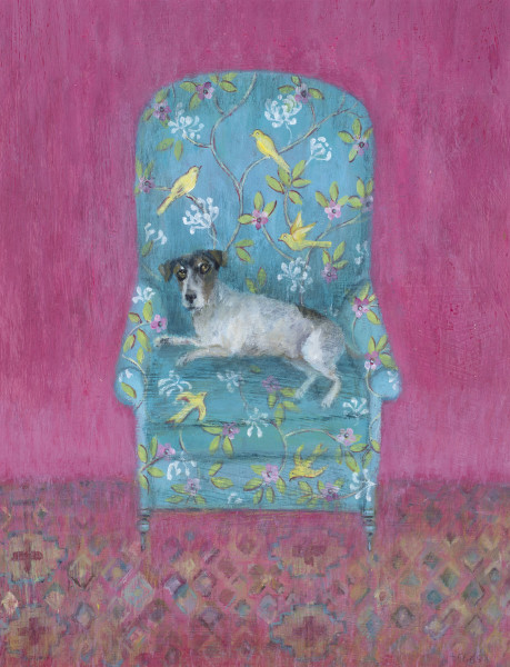 Tracy Rees Creature Comforts Acrylic on board 9.75 x 7.75ins (25 x 20cm)