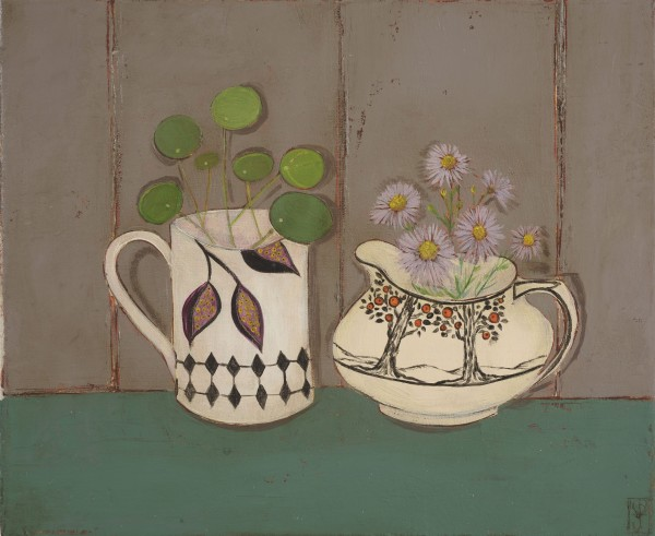 Jo Oakley, September and Pilea