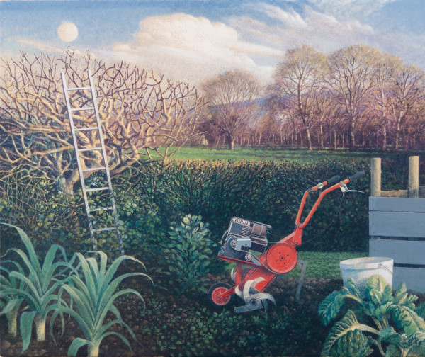 James Lynch, The Ladder and the Moon, Spring Equinox