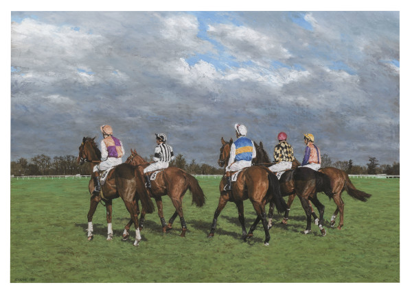 Jay Kirkman, Down at the Start, Newmarket, 1987