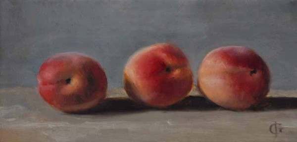 James Gillick, Three Soft Nectarines