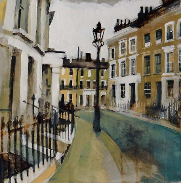 Camilla Dowse, Chalcot Crescent, Primrose Hill, London (Study)