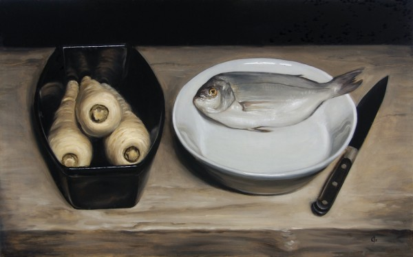 James Gillick, Silver Bream & Parsnips, 2002