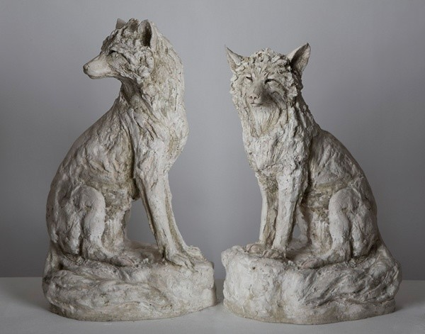 Tanya Brett, Arctic Fox I (left) Arctic Fox II (right)