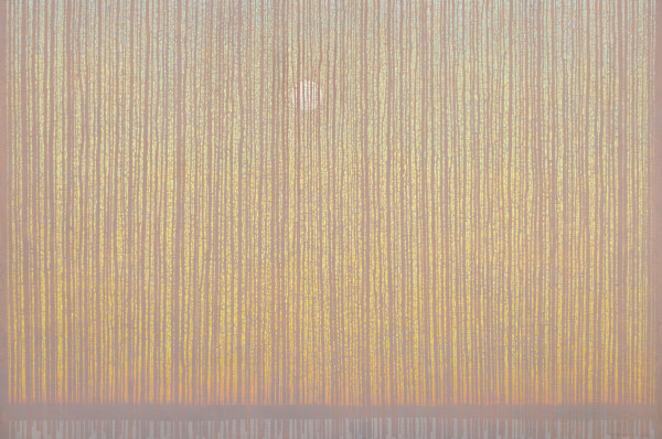 David Grossmann Cathedral Forest Oil on linen over panel 40 x 60ins (101.6 x 152.4cm)