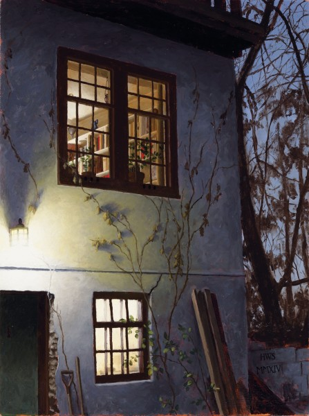 Harry Steen, Up at Dining Room Window