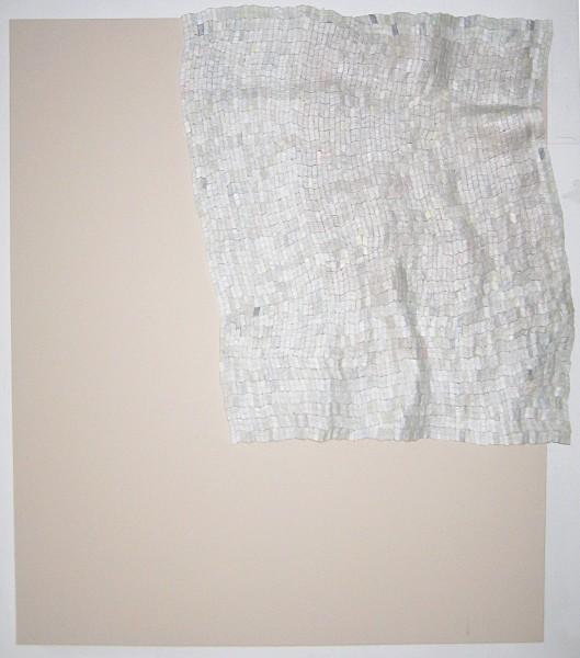 Sydney Licht  Untitled, 2012  canvas and Styrofoam  84 x 72 in.