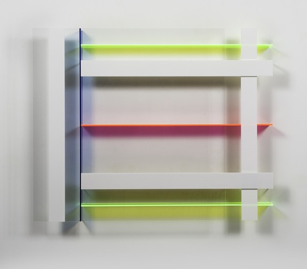 Christian Haub  A Float for Rona Goffen, 2013  cast acrylic  36 x 45 3 in.