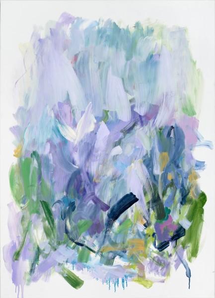 Yolanda Sánchez  Return to Grace, 2016  oil on canvas  41 x 29 1/2 in.