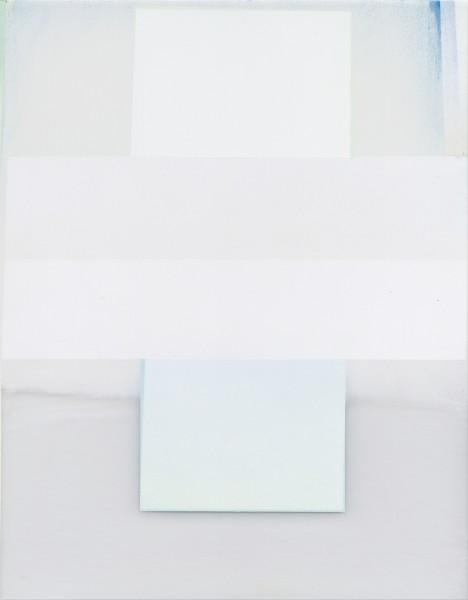 Jeffrey Cortland Jones  Bursar (Uta Squaw), 2016  enamel, gesso, latex, and graphite on acrylic panel  14 x 11 in