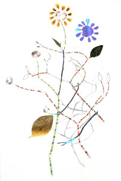 Marilla Palmer, Variegated Twig with Shadows, 2011