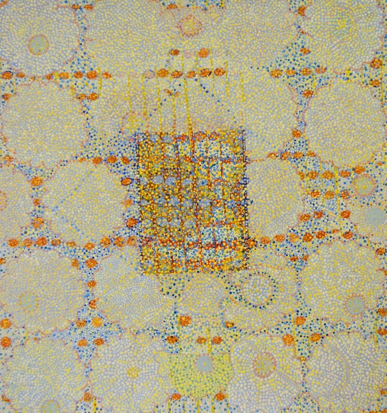 Diane Ayott  Eugene's House, 2015  mixed media on paper  24 x 21 in