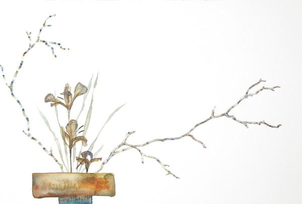 Marilla Palmer, Iris in the Grasses, 2018