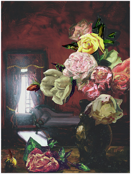 Alexis Rockman  La Traviata, 2006  oil on wood  24 x 18 in.